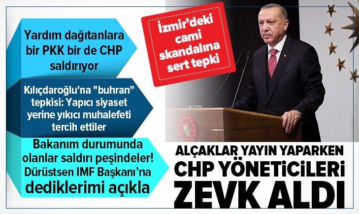 Başkan Erdoğan'dan cami saldırınsa sert tepki
