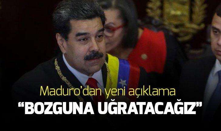 MADURO: DARBEYİ BOZGUNA UĞRATACAĞIZ