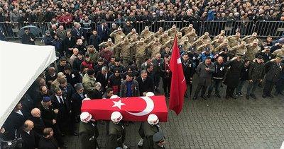 Türkiye Hakkari şehitlerini son yolculuğuna uğurladı