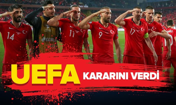 UEFA'DAN 'ASKER SELAMI' AÇIKLAMASI
