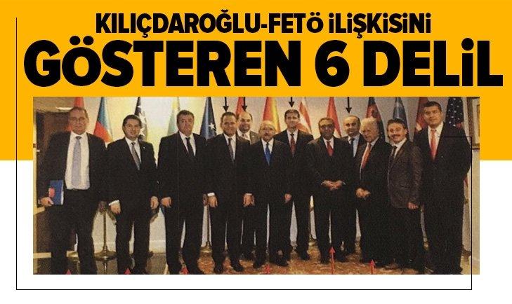 CHP Genel Başkanı Kemal Kılıçdaroğlu'nun FETÖ ile ilişkisinin 6 belgesi