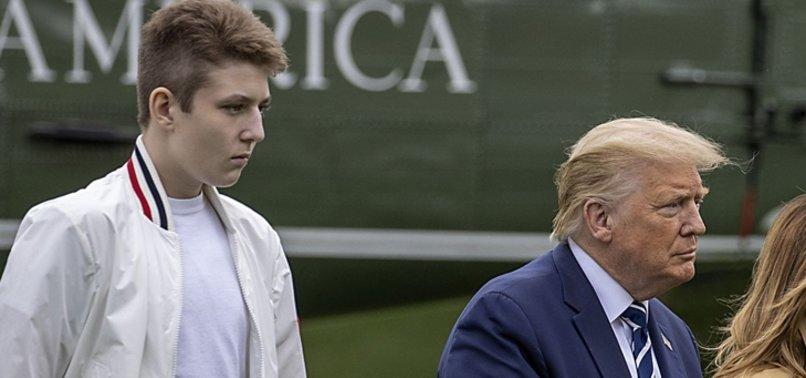 ABD Başkanı Trump'ın oğlu Barron da koronavirüse yakalandı