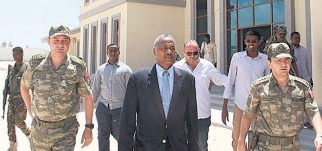 SOMALİ'DE KURULAN TÜRK ASKERİ ÜSSÜ GÖREVE BAŞLIYOR