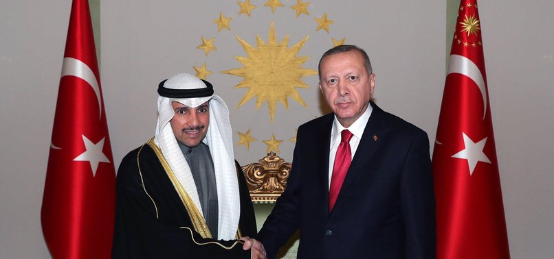 baskan erdogan kuveyt ulusal meclis baskani marzuk ali el ganimi kabul etti 1579886867169 - Главная
