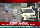 Son dakika: Bağcılarda bir polisin şehit olduğu saldırıya ait görüntüler ortaya çıktı
