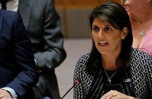 ABD, BM Güvenlik Konseyi'nde İran'ı hedef aldı!