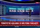 Türkiyede 1 günde 450 binden fazla doz aşı yapıldı
