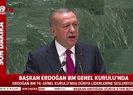 Başkan Erdoğan, İsrail'in zulmünü BM Genel Kurulu'nda dünyaya haykırdı | Video
