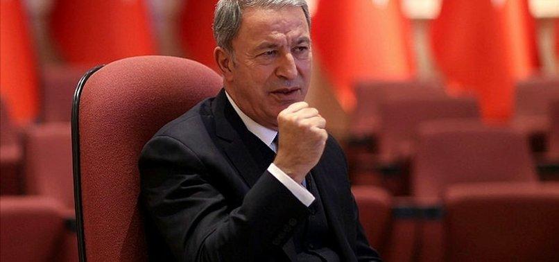 Son dakika: Milli Savunma Bakanı Hulusi Akar'dan Türk-Rus Ortak Merkezi açıklaması