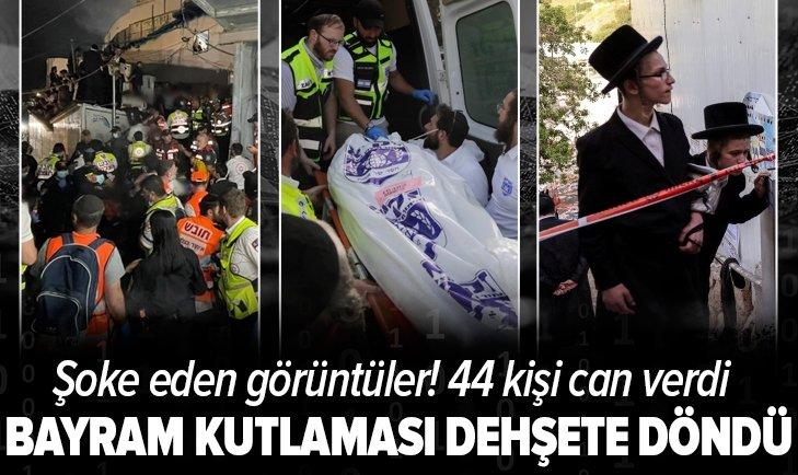 İsrail'de büyük felaket! Bayram kutlaması dehşete dönüştü