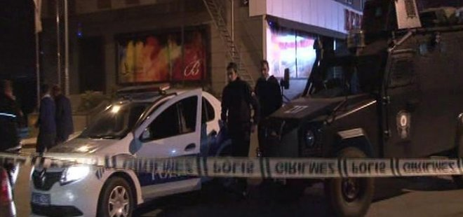 İSTANBUL'DA POLİSE SİLAHLI SALDIRI