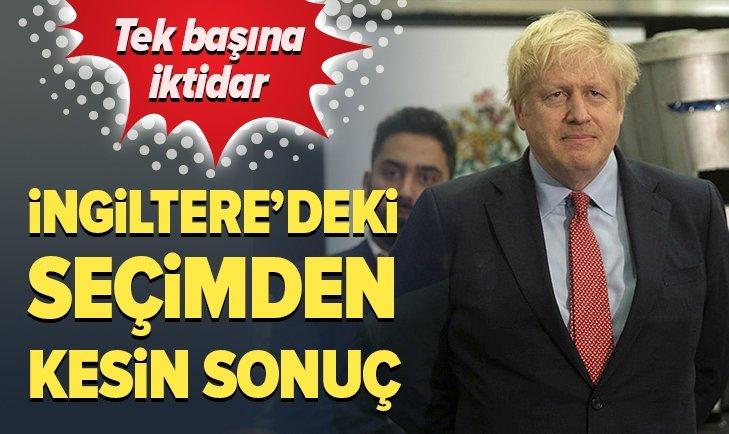 İNGİLTERE'DEKİ SEÇİMDEN KESİN SONUÇ!