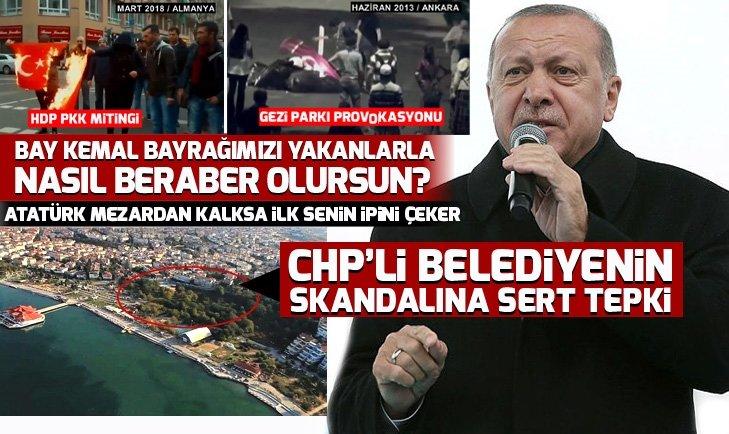 Başkan Erdoğan: Bay Kemal Atatürk mezarından kalksa ilk senin ipini çeker!