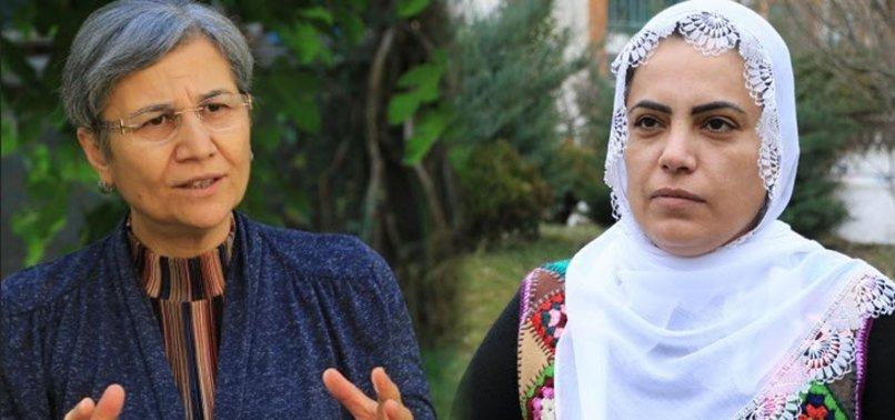 HDP'li isimler Remziye Tosun ve Evindar Oruç terörü koynunda beslediler!