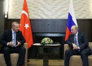 Putin Başkan Erdoğan'ı böyle karşıladı Siz geldiniz hava ne kadar güzel oldu