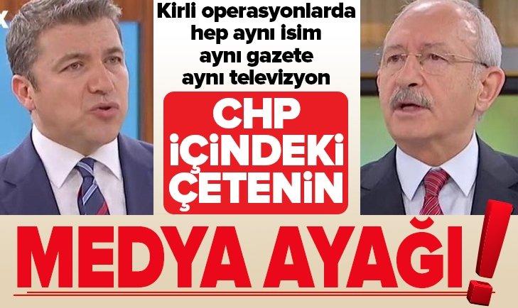 CHP içindeki çetenin medya ayağı