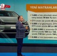 Son dakika: Yeni matrahlar ne oldu? Fiyatlar nasıl değişti? Otomobilde ÖTV sonrası fiyatları nasıl değişti? İşte eski ve yeni fiyatlar...