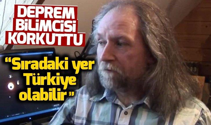 TÜRKİYE'Yİ UYARDI; BÜYÜK DEPREM GELİYOR
