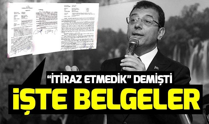 CHP'nin İstanbul adayı Ekrem İmamoğlu'nun 'itiraz etmedik' yalanı