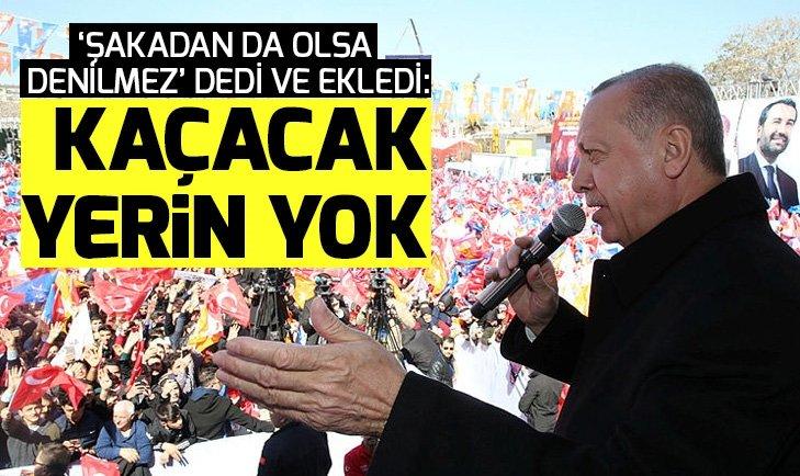 Son dakika! Başkan Erdoğandan Meral Akşenere: Bunun hesabı ağır olacak