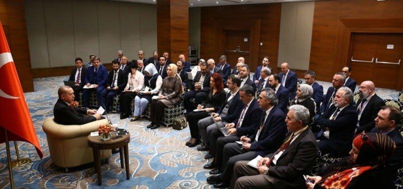 ERDOĞAN'DAN S-400 RESTİ: ONLARA SORACAK DEĞİLİZ