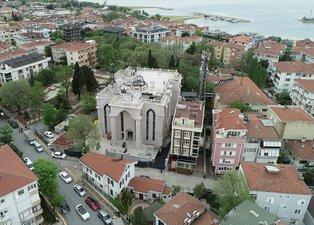 Son dakika | Cumhuriyet tarihinin ilk Süryani kilisesi! Havadan işte böyle görüntülendi! Açılış tarihi belli oldu