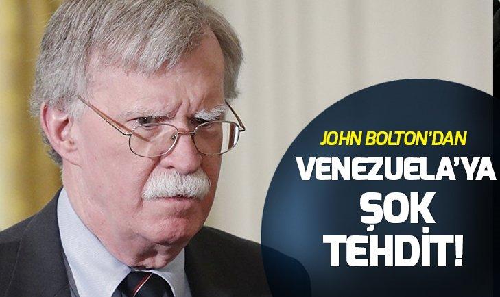 BOLTON: ABD DİPLOMATLARINA VE GUAİDO'YA YÖNELİK HERHANGİ BİR SALDIRIYA 'CİDDİ BİR KARŞILIK' VERİLECEK