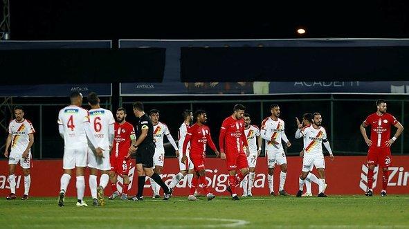 Antalya'da gol sağanağı!