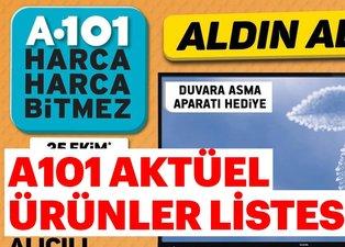 A101 güncel aktüel ürünler listesi! 25 Ekim Perşembe A101 bu hafta aktüel ürünleri listesinde neler var?