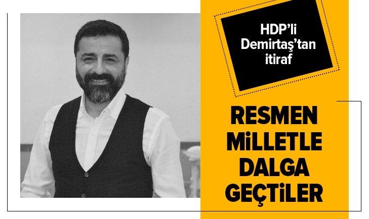 Selahattin Demirtaş'tan CHP itirafı