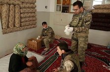 Mehmetçik'ten Afrin'de sağlık taraması
