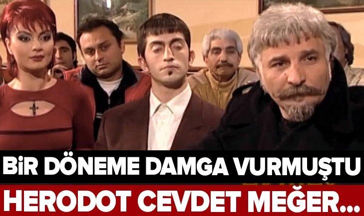 EKMEK TEKNESİ'NİN HEREDOT CEVDET'İ MEĞER...