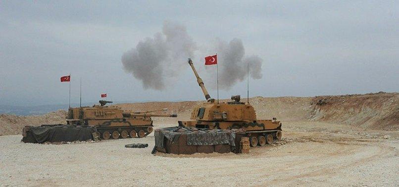 İLK BOMBARDIMANIN ARDINDAN PYD'Lİ TERÖRİSTLER BAKIN NE YAPTI