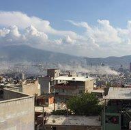 İzmirde 6,6 büyüklüğünde deprem meydana geldi! İşte ilk görüntüler