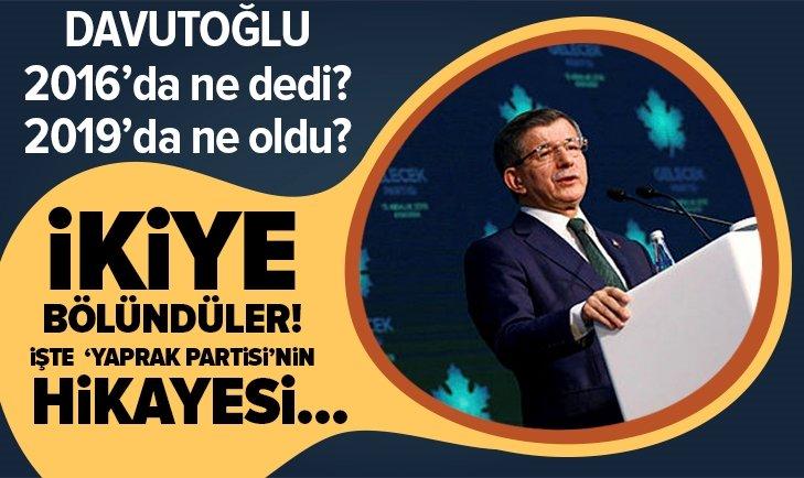 ENGİN ARDIÇ'TAN AHMET DAVUTOĞLU'NA! YAPRAK PARTİSİ...