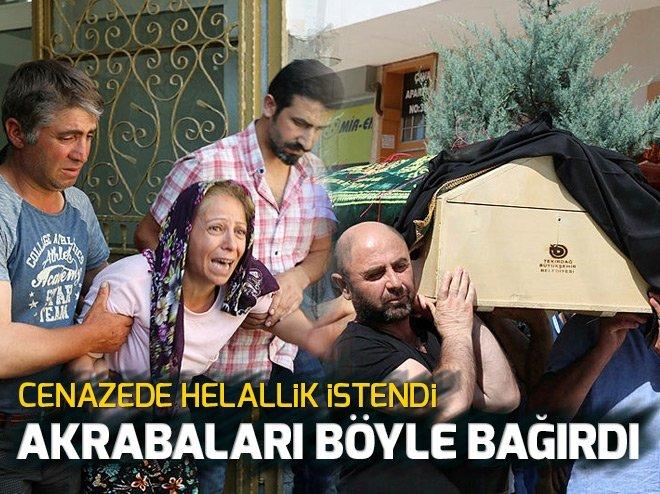 CENAZEDE HELALLİK İSTENDİ AKRABALARI BÖYLE BAĞIRDI!