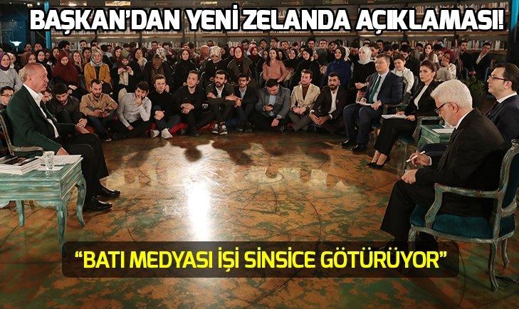 Başkan Erdoğan'dan Yeni Zelanda açıklaması: Bu kabul edilebilir mi?