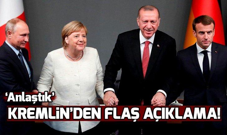 KREMLİN'DEN FLAŞ AÇIKLAMA! 'ANLAŞTIK'