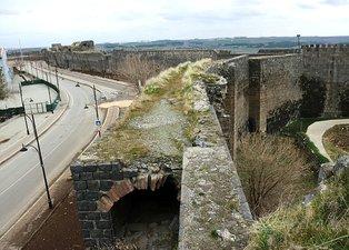 Diyarbakır sur tünelleri | Tarihi geçitler görüntülendi! Çin Seddi'nin ardından ikinci