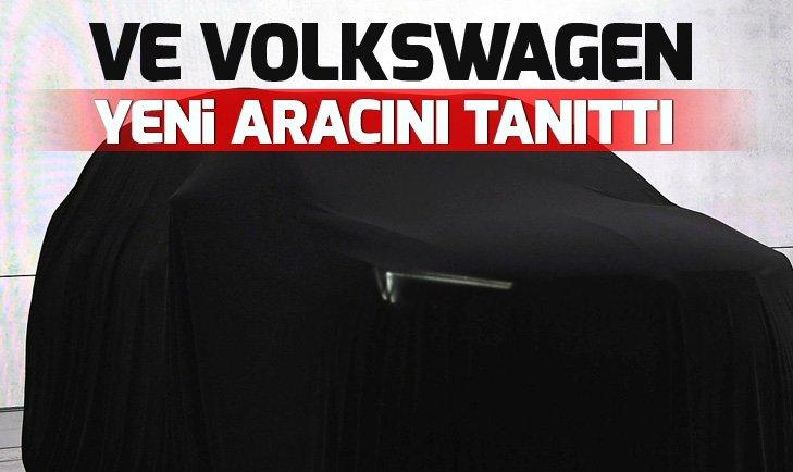 Volkswagen yeni aracını tanıttı