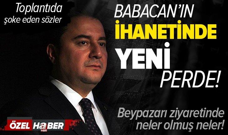 Ali Babacan'ın ihanetinde yeni perde! 17 Nisan referandumu öncesi Beypazarı ziyaretinde neler yaşandı? Hikmet Genç A Haber'de açıkladı