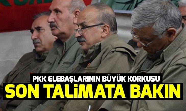 Köşeye sıkışan PKK elebaşlarının yeni talimatı