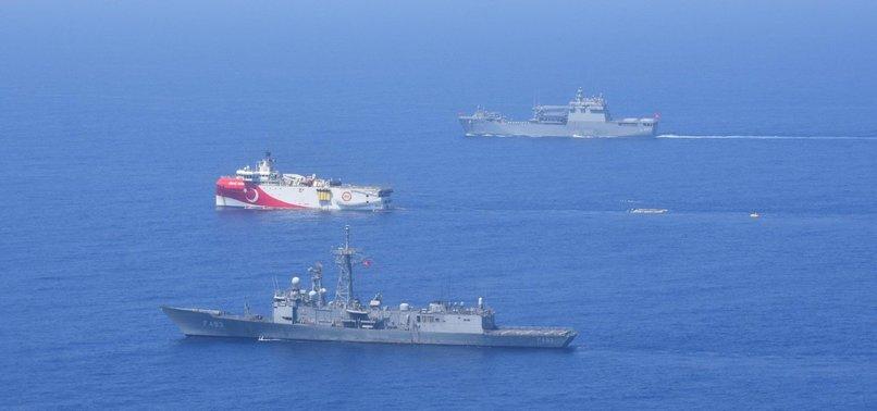 Son dakika: Doğu Akdeniz'de deniz eğitimi! Milli Savunma Bakanlığı böyle duyurdu