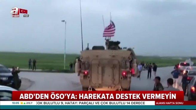 ABD'den skandal tehdit! Türk askerine destek vermeyin