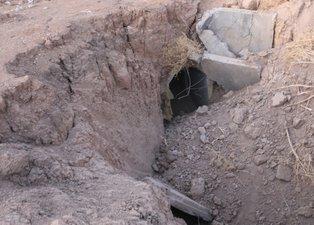 YPG'nin bomba tuzaklı tünelleri kapatılıyor!