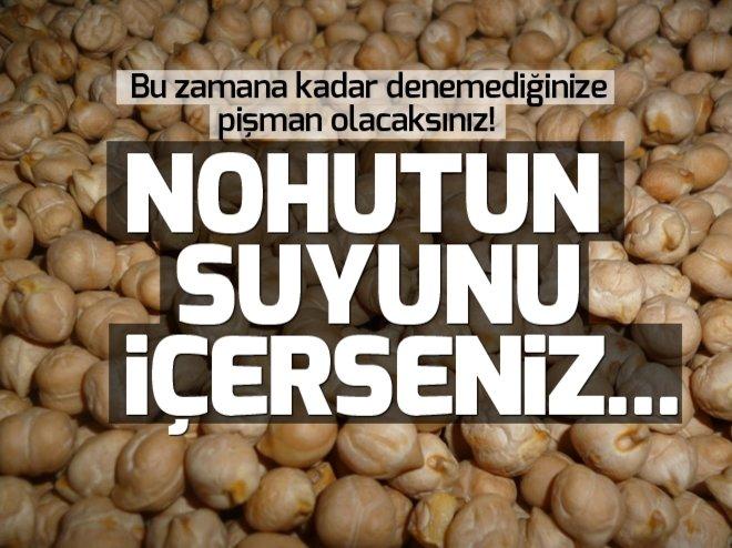 NOHUTU 1 GECE SUDA BEKLETİP SUYUNU İÇERSENİZ...