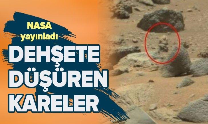 NASA YAYINLADI! DEHŞETE DÜŞÜREN FOTOĞRAFLAR