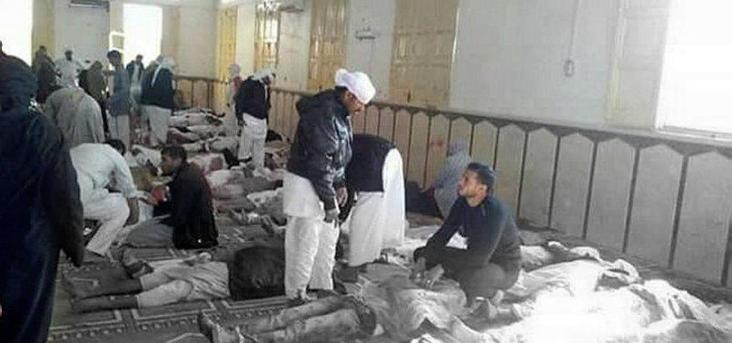 Mısır'da camiye saldırı düzenlendi! En az 235 kişi hayatını kaybetti.