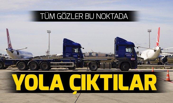 TÜRK HAVA YOLLARI, İSTANBUL HAVALİMANI'NA TAŞINMAYA BAŞLADI