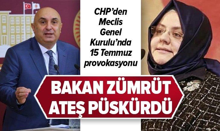 CHP'Lİ ÖZKOÇ'TAN MECLİS'TE 15 TEMMUZ PROVOKASYONU